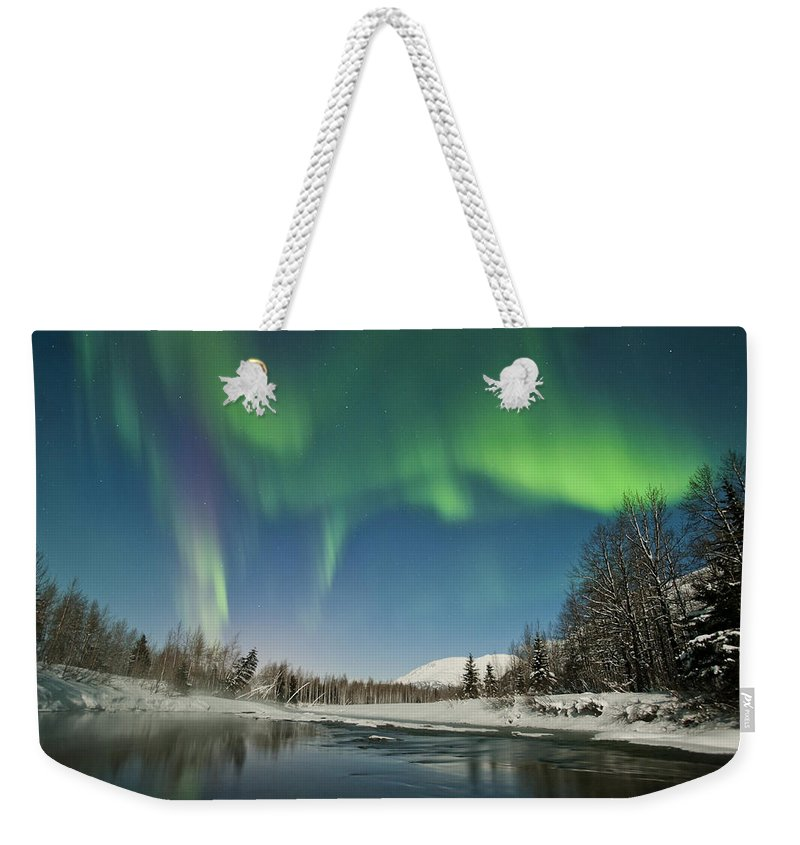 Aurora Weekender Tote Bag featuring the photograph Steam by Ted Raynor