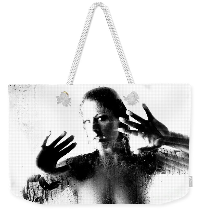 Art Weekender Tote Bag featuring the photograph Steamed Glass by Jt PhotoDesign