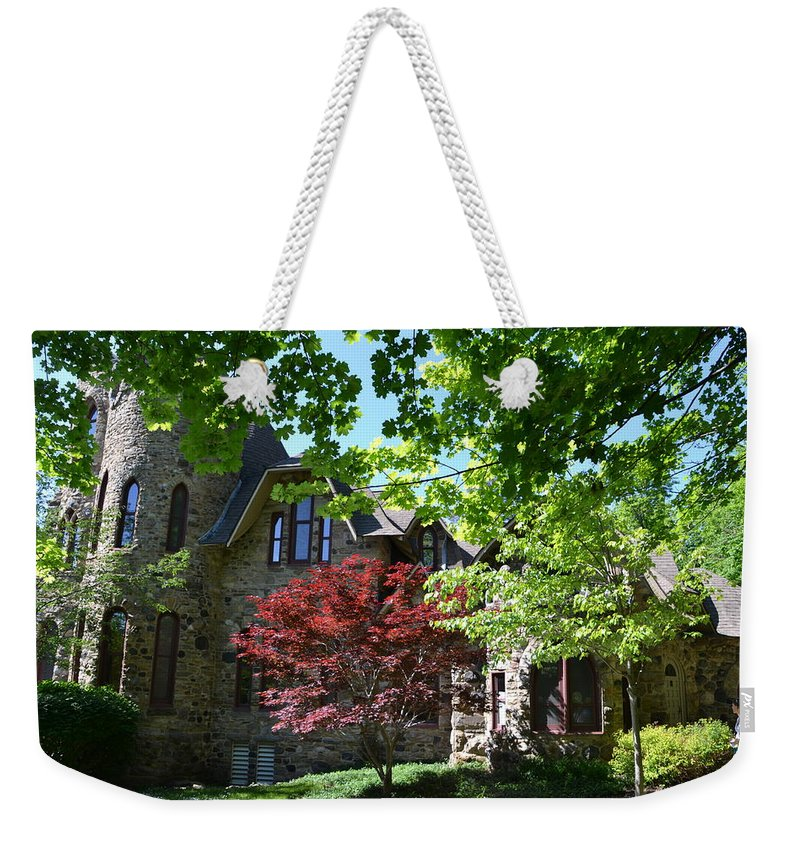 Weekender Tote Bag featuring the photograph Steinheim Of Au by Katerina Naumenko