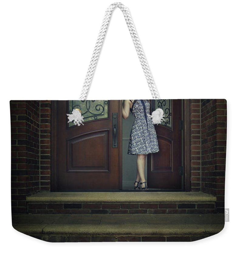 Home Weekender Tote Bag featuring the photograph Step Into My Dream by Evelina Kremsdorf