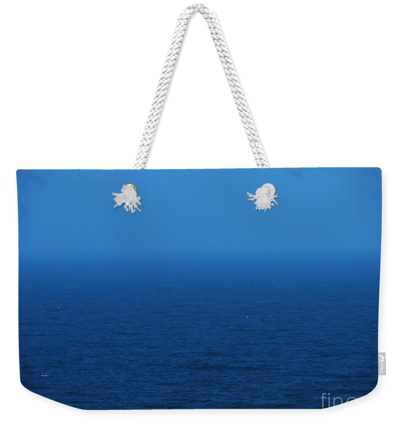 Blue Weekender Tote Bag featuring the photograph Stepping Into A Dream by Amanda Barcon