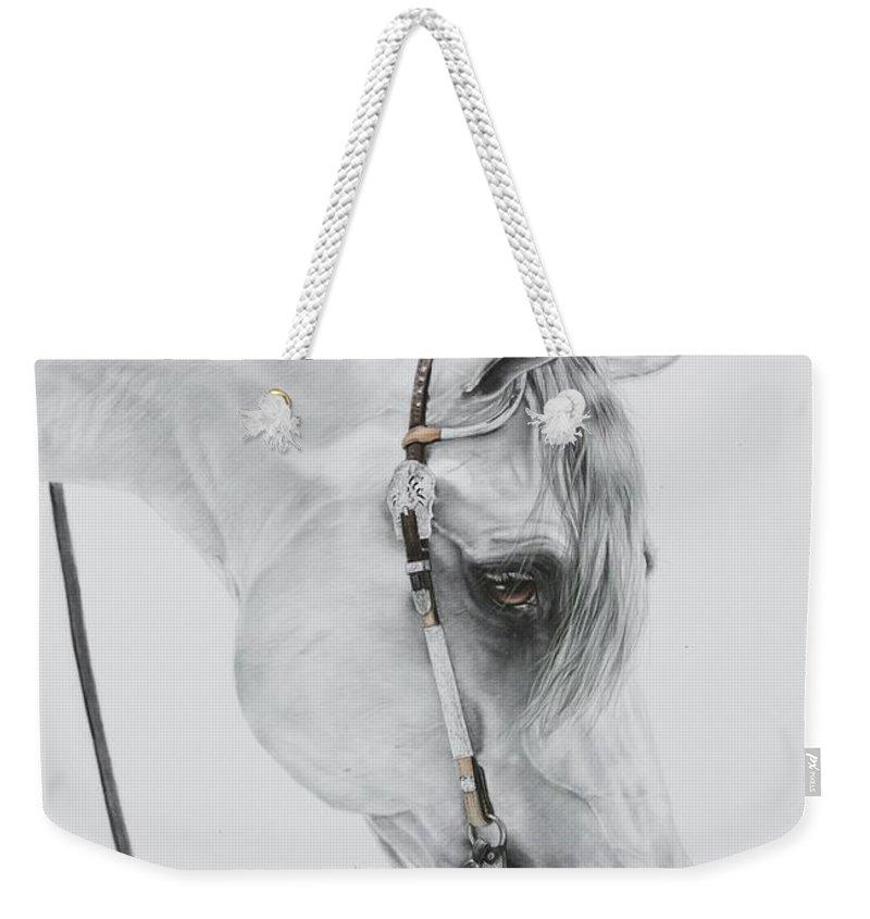 Horse Head Weekender Tote Bags