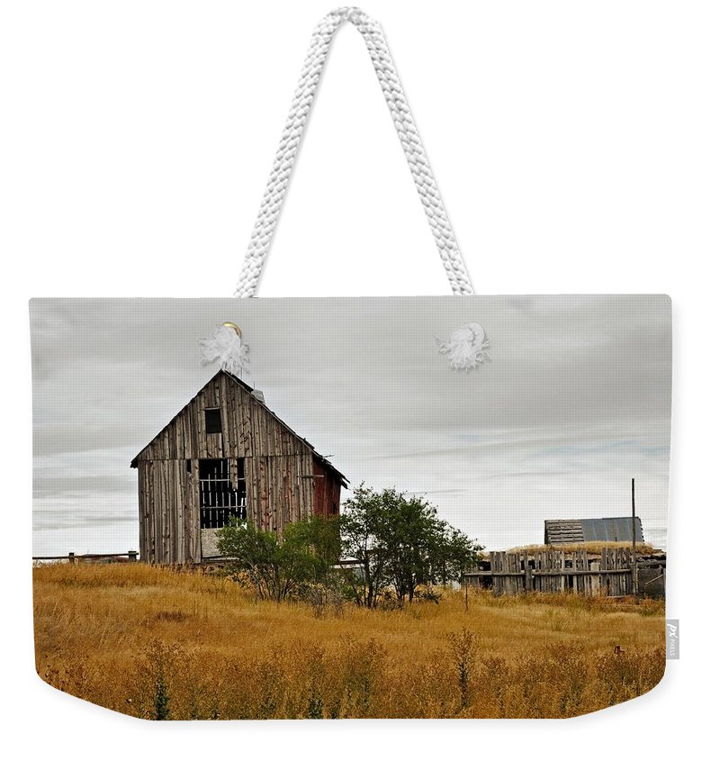 Barn Weekender Tote Bag featuring the photograph Still Standing by Image Takers Photography LLC