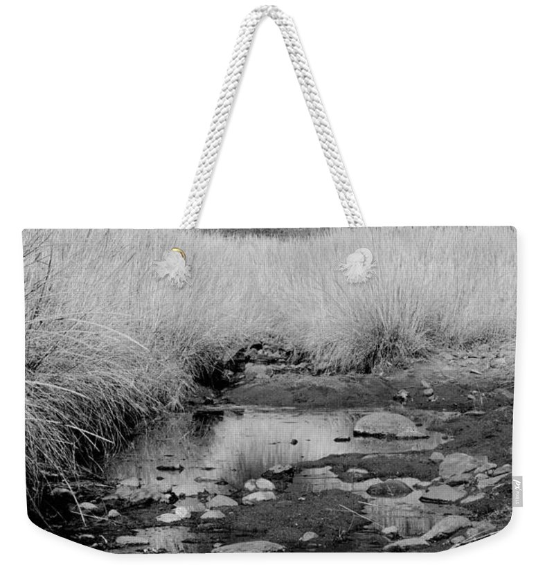 Photography Weekender Tote Bag featuring the photograph Stillness Of The Day by Vicki Pelham