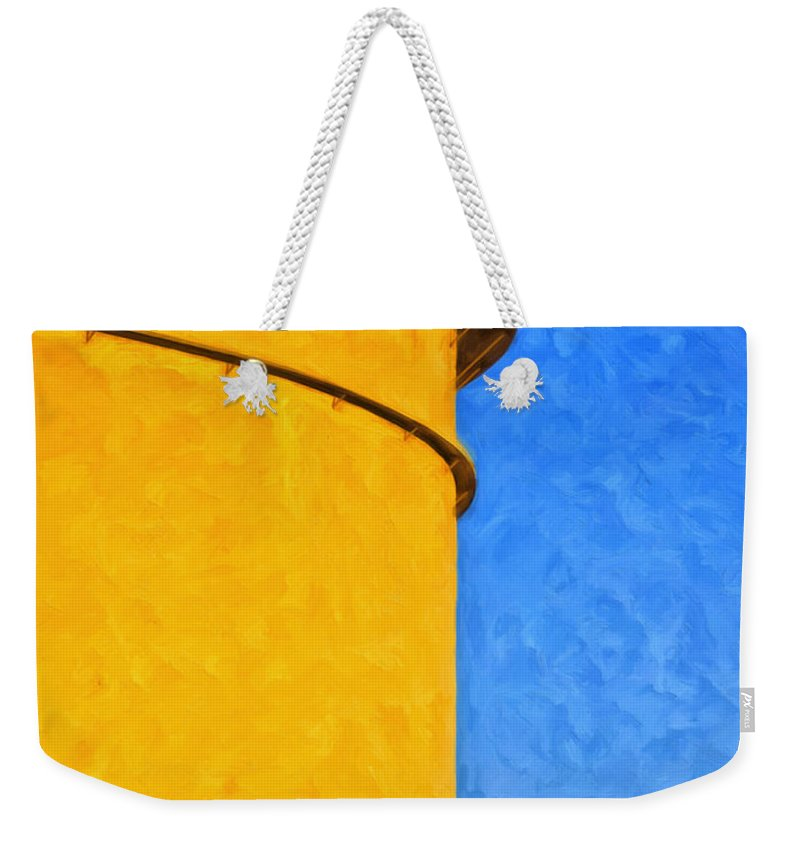 Storage Weekender Tote Bag featuring the painting Storage by Dominic Piperata