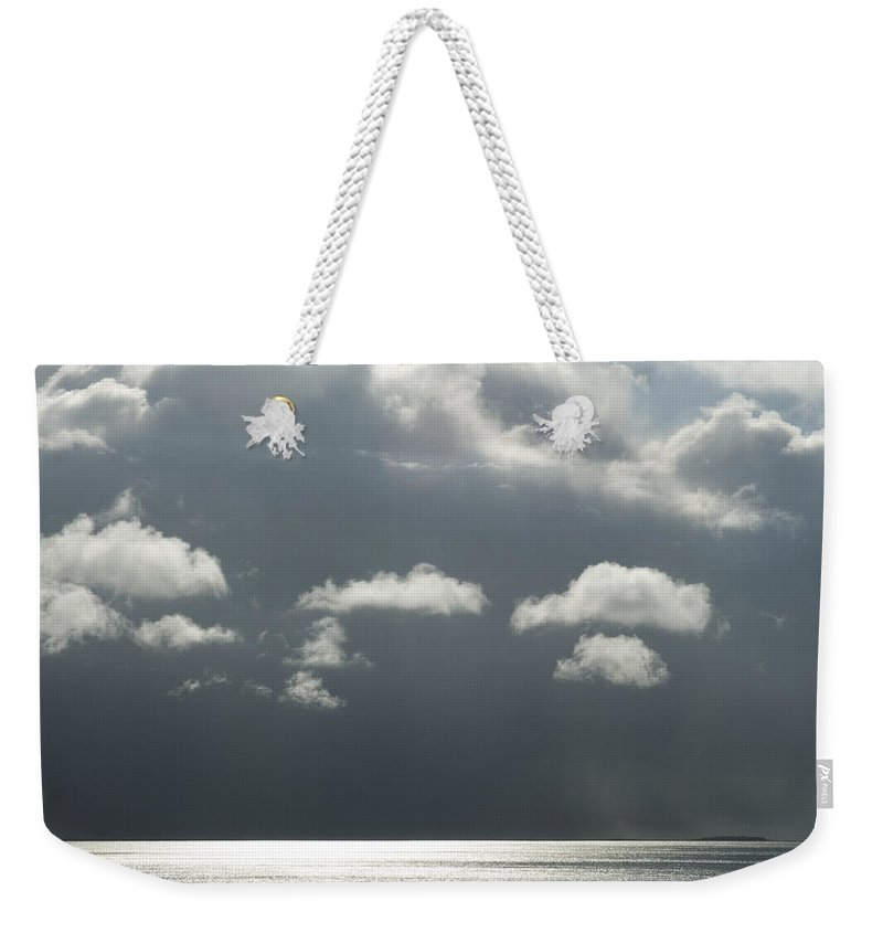 Stormy Weekender Tote Bag featuring the photograph Storm Is Coming by Yulia Kazansky