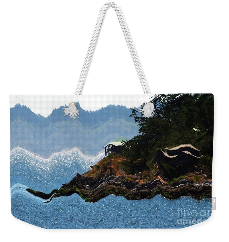 Storm Weekender Tote Bag featuring the digital art Storm by Sharon Talson