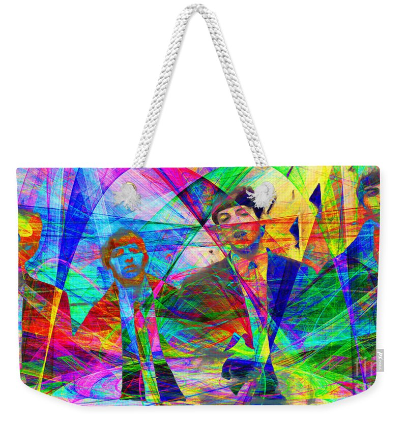 Wingsdomain Weekender Tote Bag featuring the photograph Strawberry Fields Forever 20130615 by Wingsdomain Art and Photography