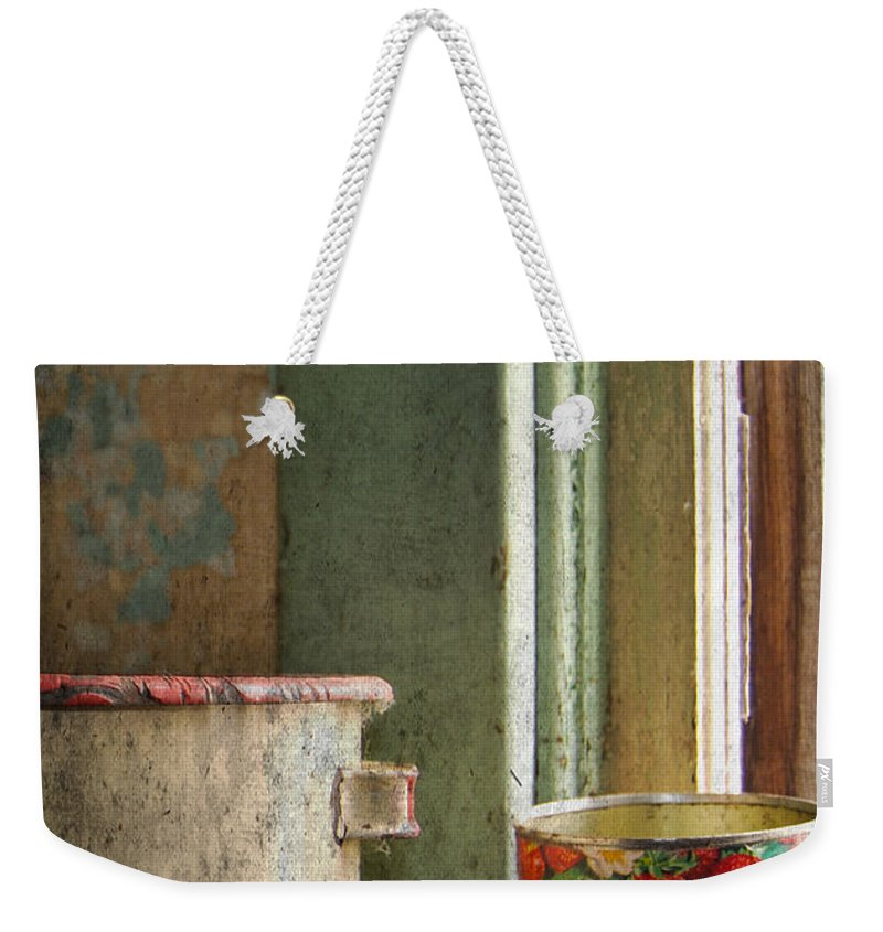 Strawberry Jam Weekender Tote Bag featuring the photograph Strawberry Jam by The Artist Project
