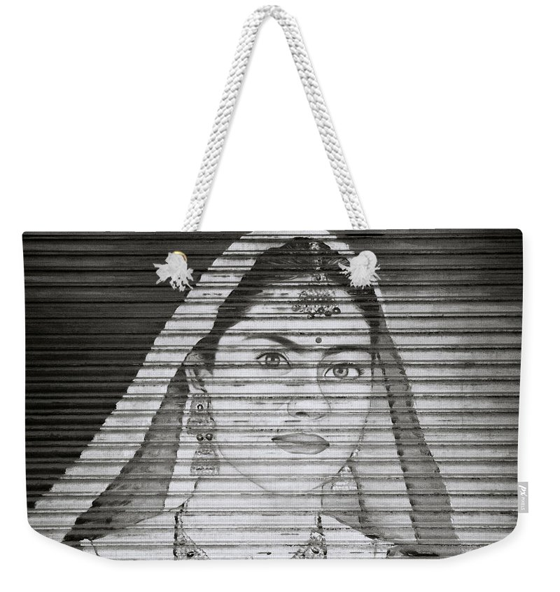 Woman Weekender Tote Bag featuring the photograph The Ethereal Woman by Shaun Higson