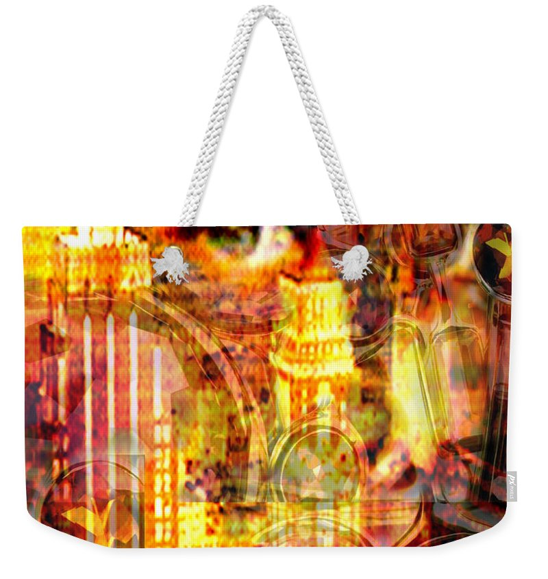 Big City Weekender Tote Bag featuring the photograph Streetwalker by Seth Weaver