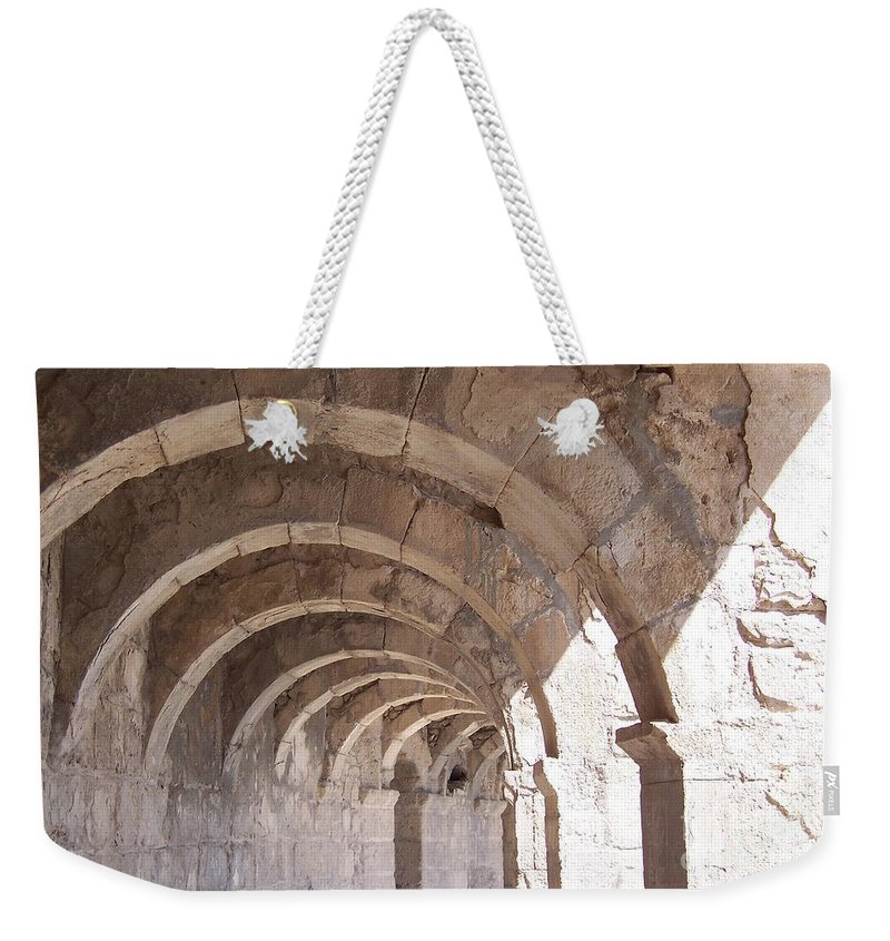 Egypt Weekender Tote Bag featuring the photograph Strength by Jennifer Diaz