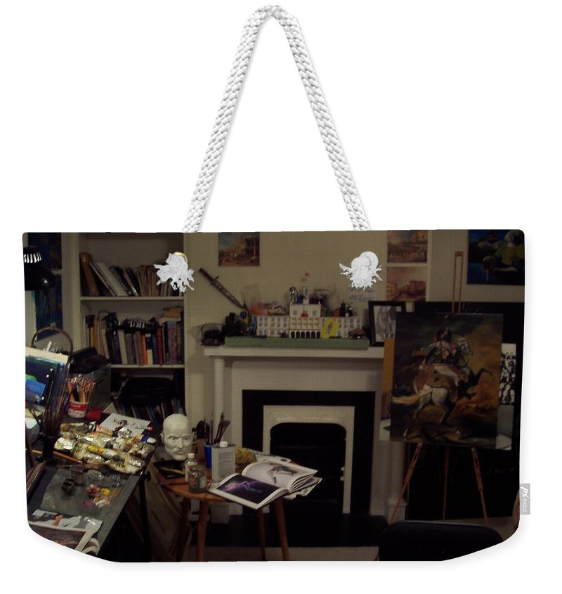 Weekender Tote Bag featuring the photograph Savannah 9studio by Jude Darrien