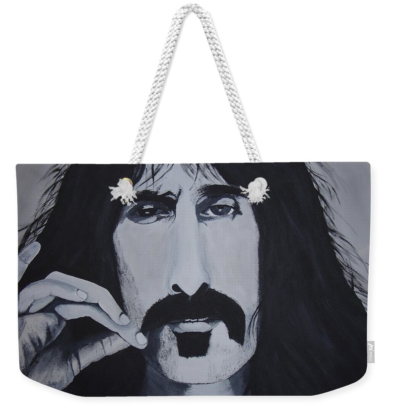 Suave Weekender Tote Bag featuring the painting Suave 40-93 by Dean Stephens