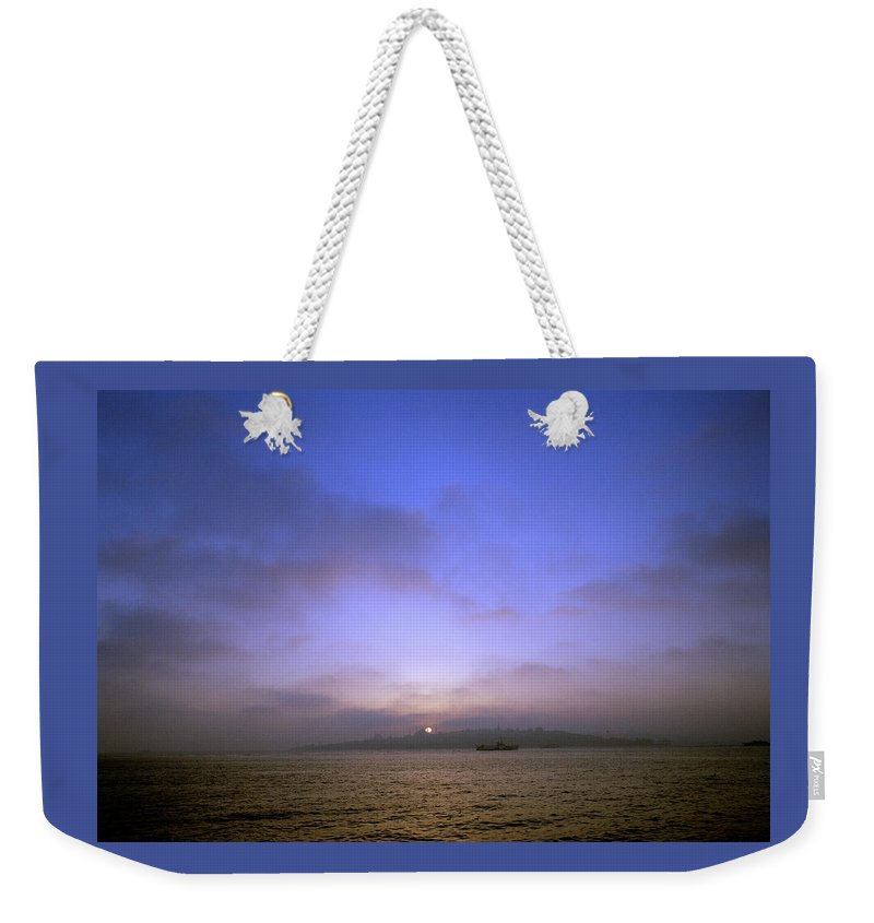 Istanbul Weekender Tote Bag featuring the photograph Ethereal Dreams by Shaun Higson