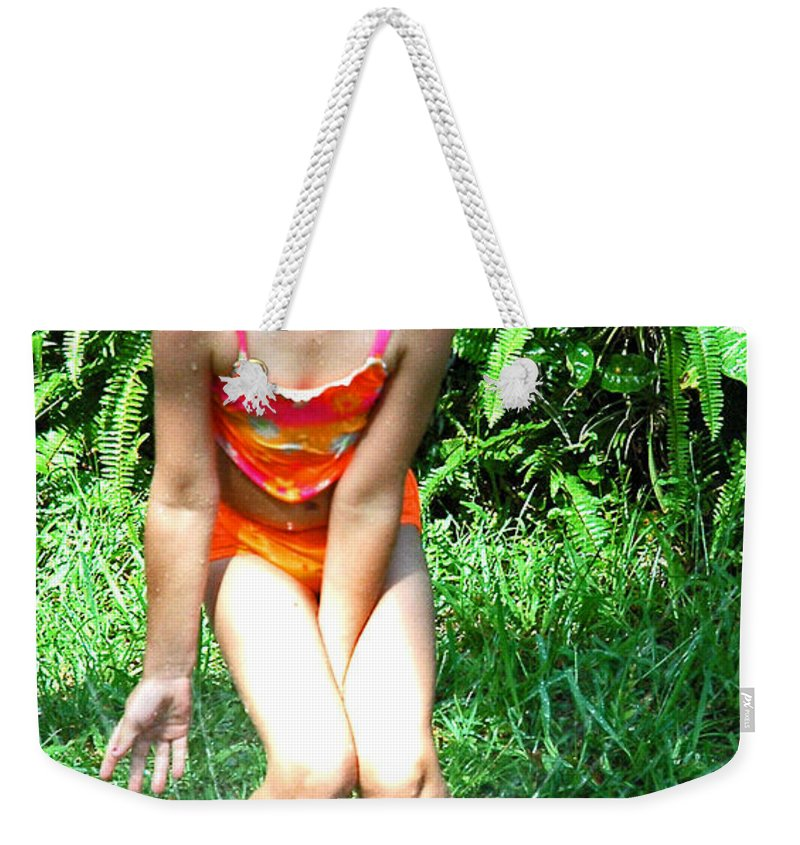 Portrait Weekender Tote Bag featuring the photograph Summer Fun by Norman Johnson