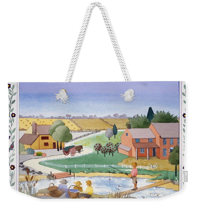 Julia Rowntree Weekender Tote Bag featuring the photograph Summer by Julia Rowntree