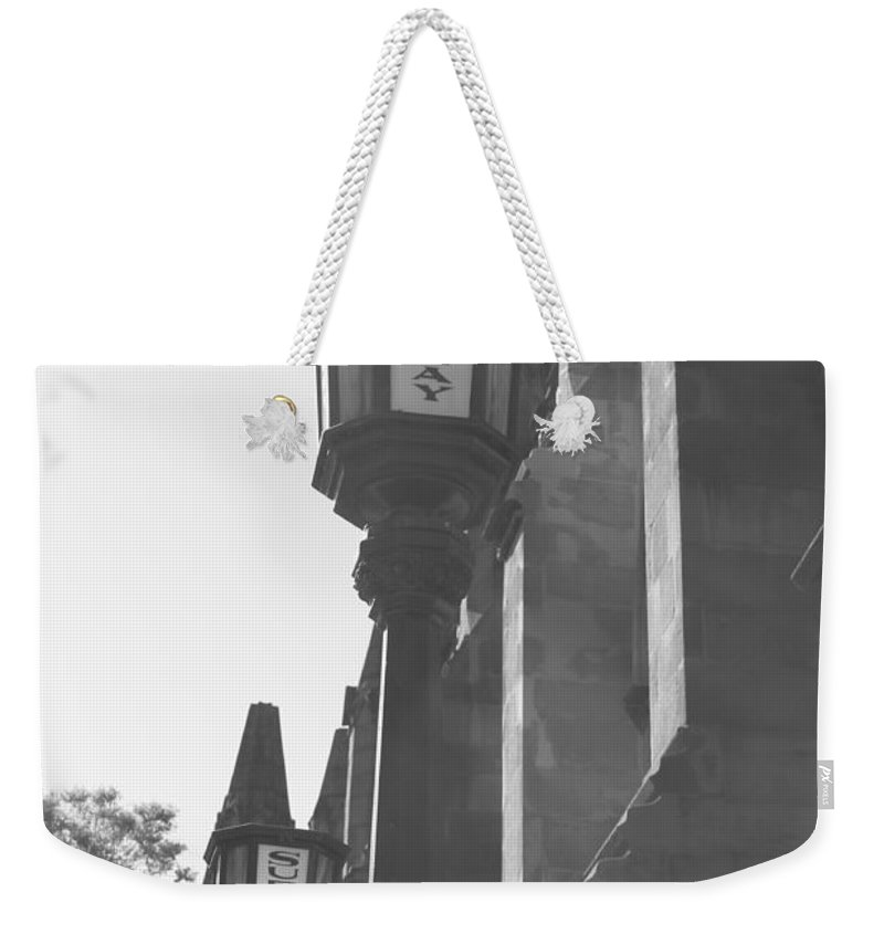 Subway Station Weekender Tote Bag featuring the photograph Sun Rays And Subways by Catie Canetti