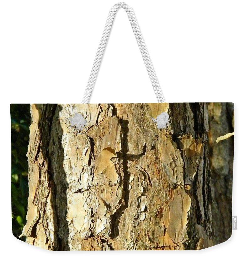 Cross Weekender Tote Bag featuring the digital art Sunday Morning Cross by Matthew Seufer
