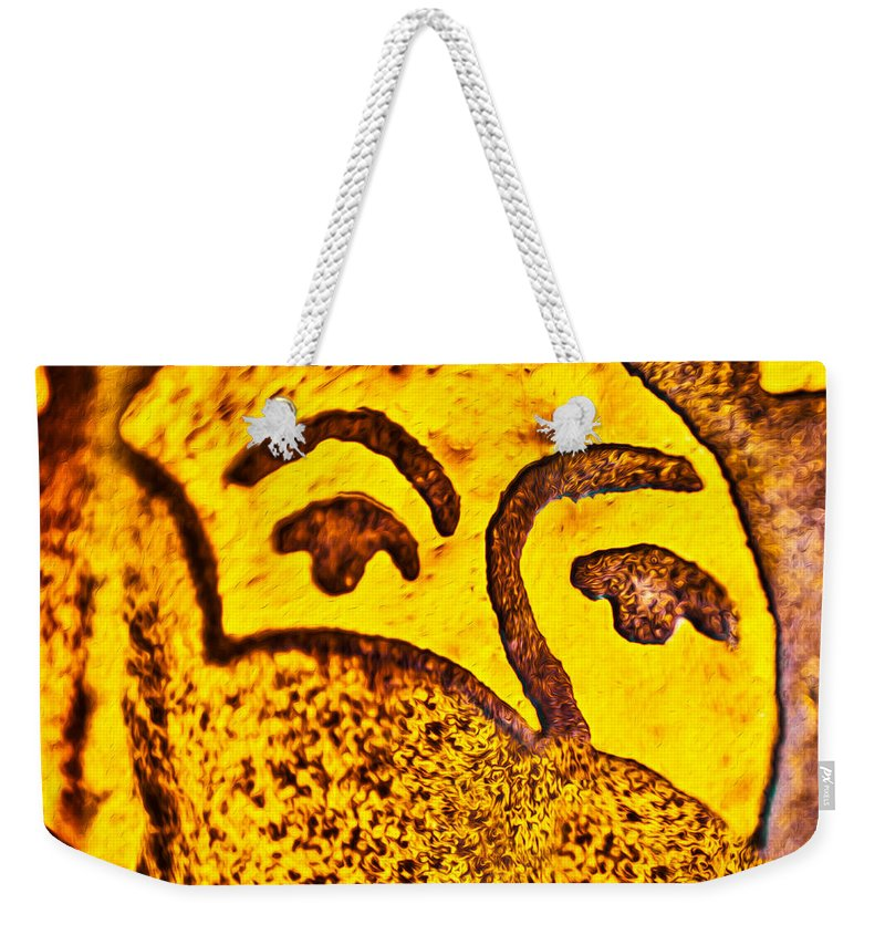 Sunday Morning Weekender Tote Bag featuring the painting Sunday Morning by Omaste Witkowski