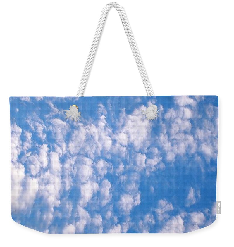 Church Weekender Tote Bag featuring the photograph Sunday Morning Outdoor Services by Matthew Seufer