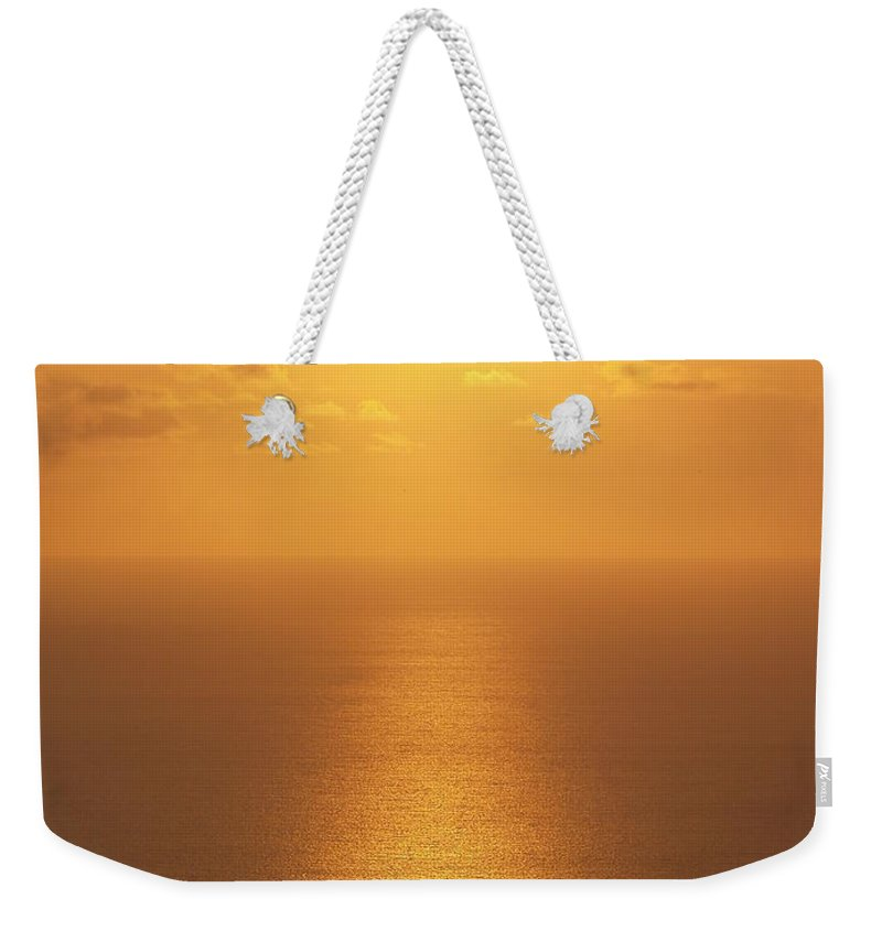 Suset Pictures Weekender Tote Bag featuring the photograph Sunlight by Athala Carole Bruckner