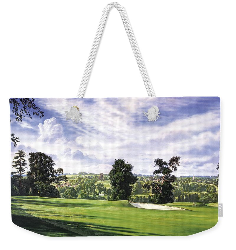 Steve Crisp Weekender Tote Bag featuring the photograph Sunny Afternoon by Steve Crisp