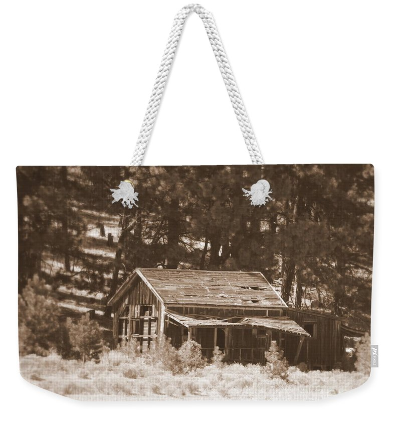 Homestead Weekender Tote Bag featuring the photograph Sunny With Two Porches by Carol Groenen