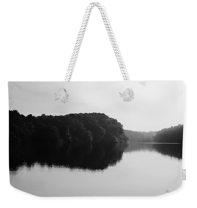 Apalachicola River Weekender Tote Bag featuring the photograph Sunrise Along The River by Debra Forand