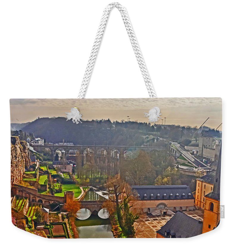 Travel Weekender Tote Bag featuring the photograph Sunrise In Old Town by Elvis Vaughn