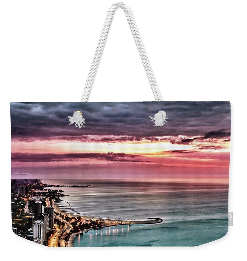 Tranquility Weekender Tote Bag featuring the photograph Sunrise by Jnhphoto