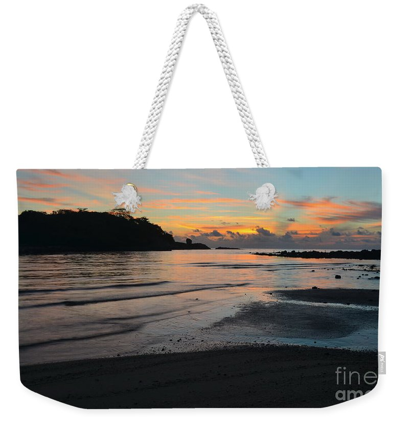 Michelle Meenawong Weekender Tote Bag featuring the photograph Sunrise by Michelle Meenawong