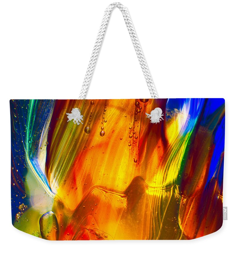 Abstract Weekender Tote Bag featuring the photograph Sunrise by Omaste Witkowski