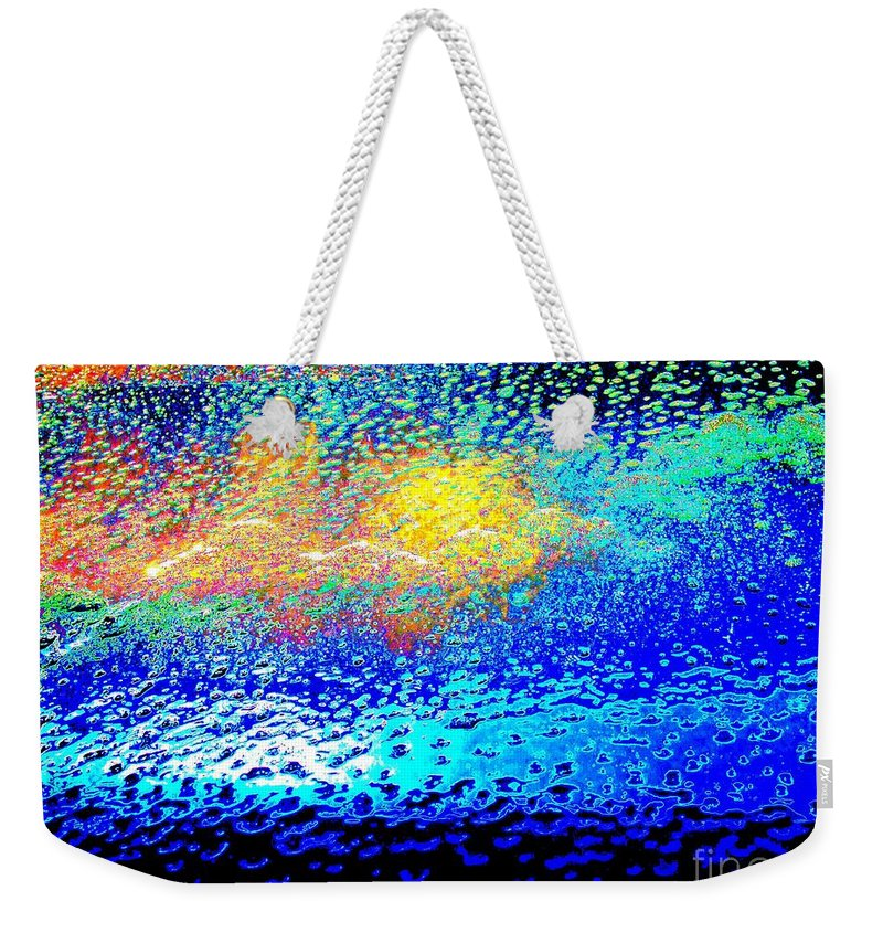 Weekender Tote Bag featuring the photograph Sunrise On The Beach by Larry Ward
