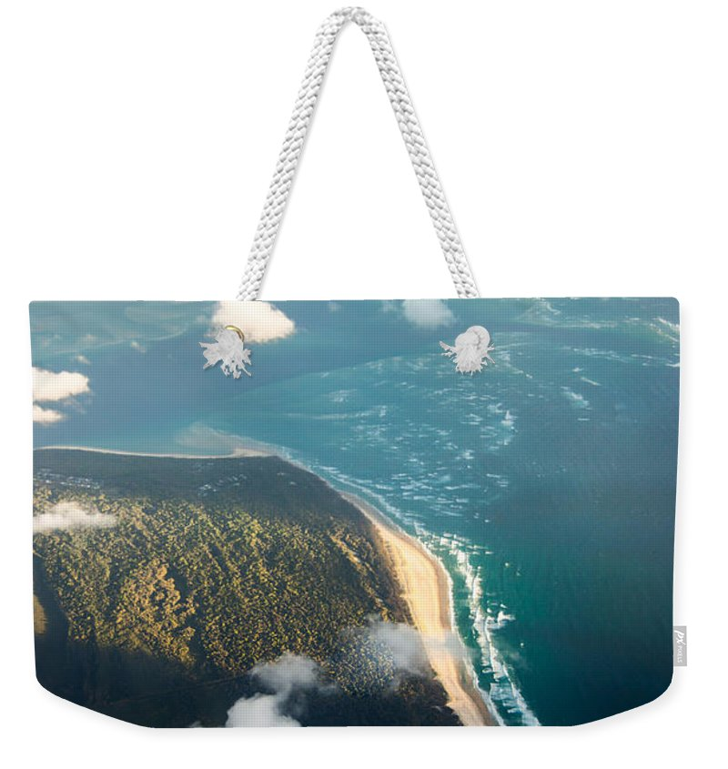 Paradise Weekender Tote Bag featuring the photograph Sunrise Over Paradise by Parker Cunningham