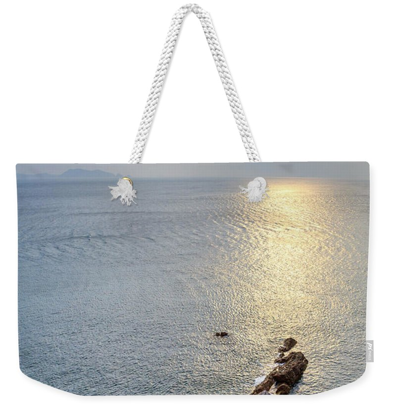 Scenics Weekender Tote Bag featuring the photograph Sunrise Over The Coast Of Shenzhen by Feng Wei Photography