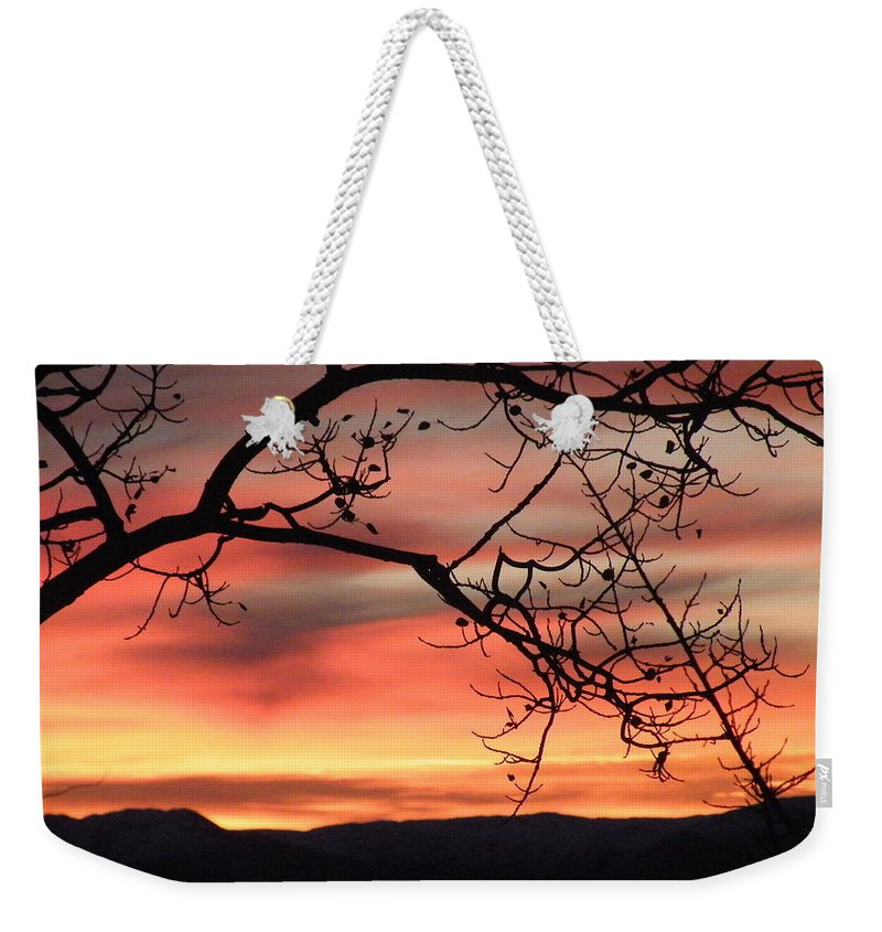 Sunrise Weekender Tote Bag featuring the photograph Sunrise Sonata by Brian Boyle