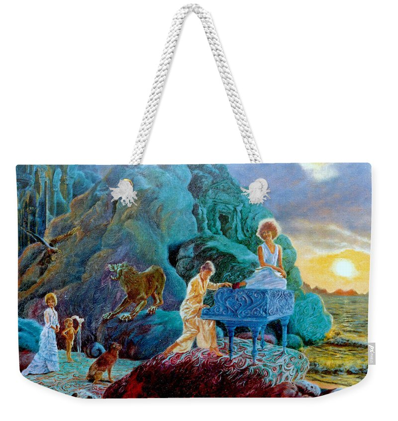 Sonata Weekender Tote Bag featuring the painting Sunrise Sonata by Henryk Gorecki