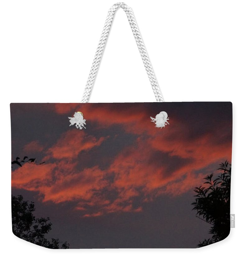 Sunset Weekender Tote Bag featuring the photograph Sunset After The Storm by Mick Anderson