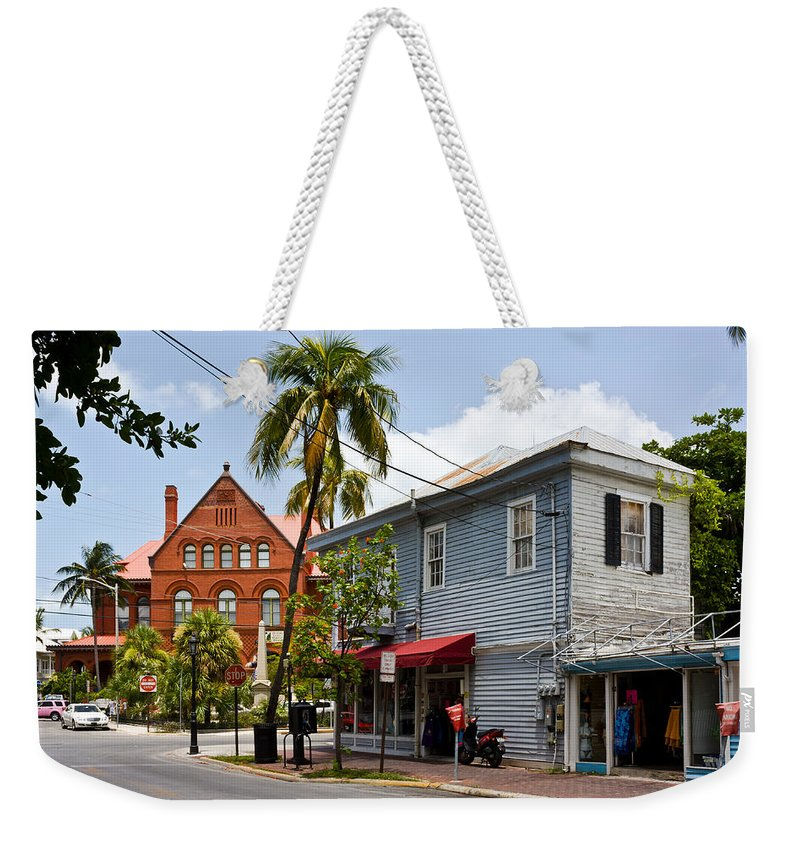 1891 Weekender Tote Bag featuring the photograph Sunset And Whitehead by Ed Gleichman