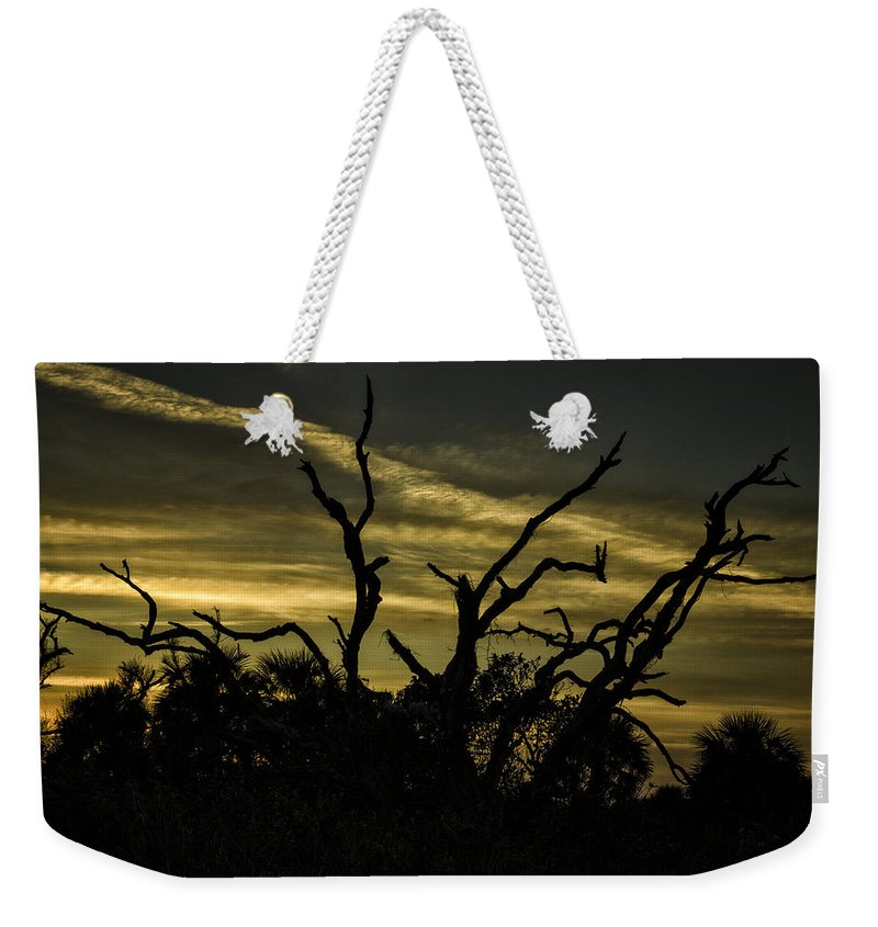 Landscape Weekender Tote Bag featuring the photograph Sunset Avalon Beach by Fran Gallogly