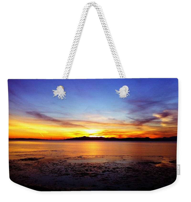 Sunset Weekender Tote Bag featuring the photograph Sunset II by Priscilla De Mesa