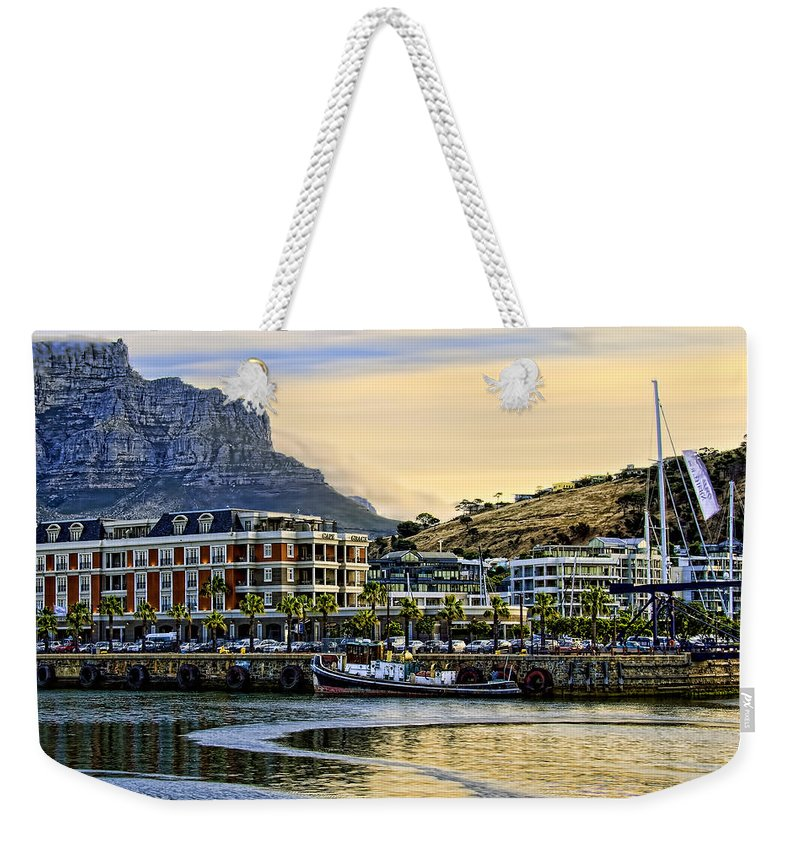 Africa Weekender Tote Bag featuring the photograph Sunset In Cape Town by Maria Coulson