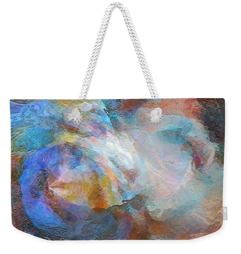 Hotel Art Weekender Tote Bag featuring the digital art Surf Of The Spirit by Margie Chapman