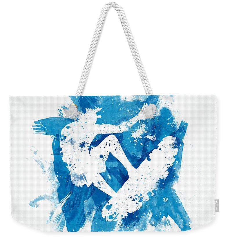 Sport Art Weekender Tote Bags