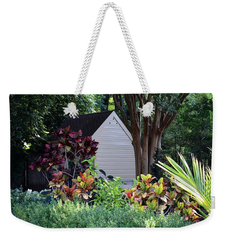 Beauty Weekender Tote Bag featuring the photograph Surrounded By Beauty by Maria Urso