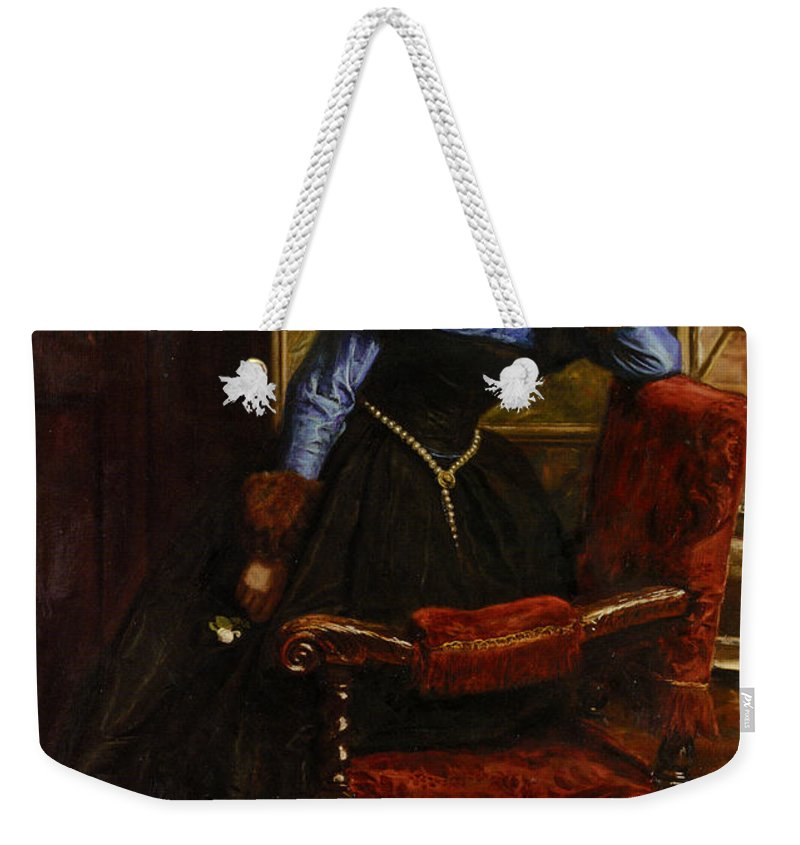 John Weekender Tote Bag featuring the painting Swallow Swallow by Philip Ralley