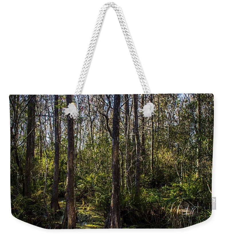 Bald Cypress Weekender Tote Bags