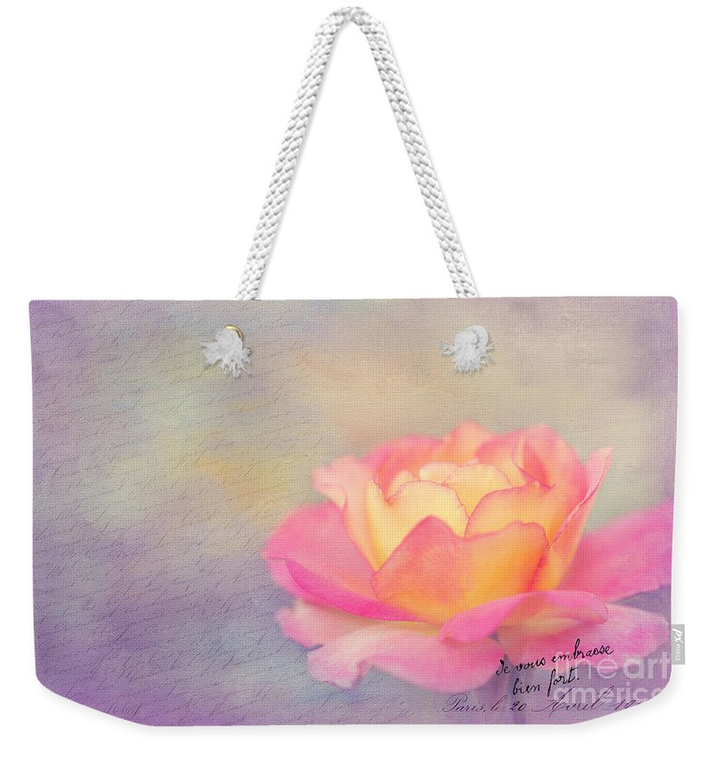 Bloom Weekender Tote Bag featuring the photograph Sweet Are The Memories by Beve Brown-Clark Photography