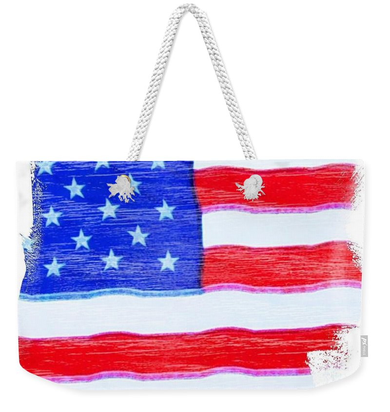 Usa Weekender Tote Bag featuring the photograph Sweet Land Of Liberty by Robert ONeil